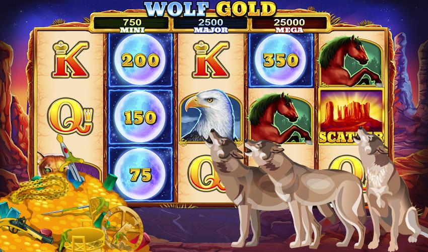 Подложка Wolf Gold