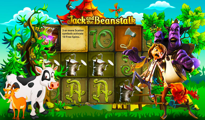 Подложка Jack and the Bean Stalk