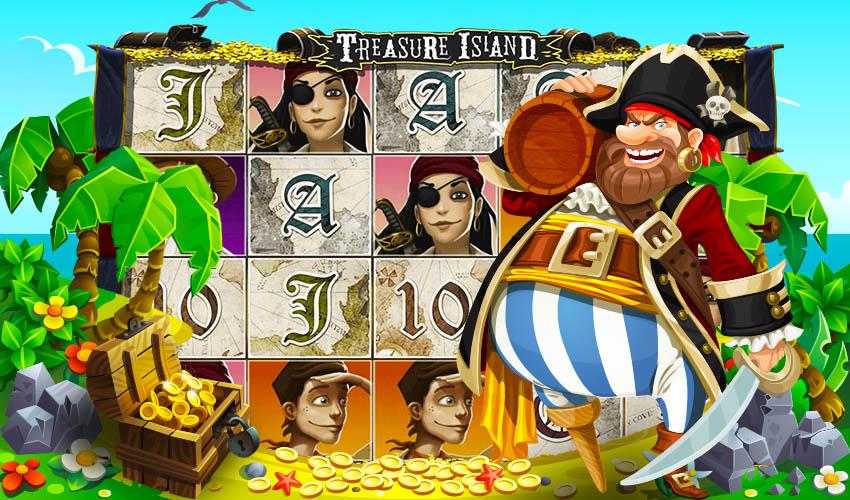Контора treasure island остров сокровищ игровой автомат