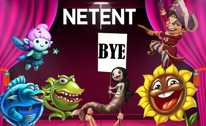 NetEnt убирает 15 игровых автоматов из всех онлайн-казино