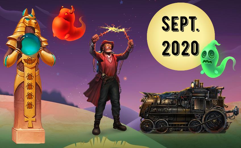 Самые ожидаемые игровые автоматы сентября 2020
