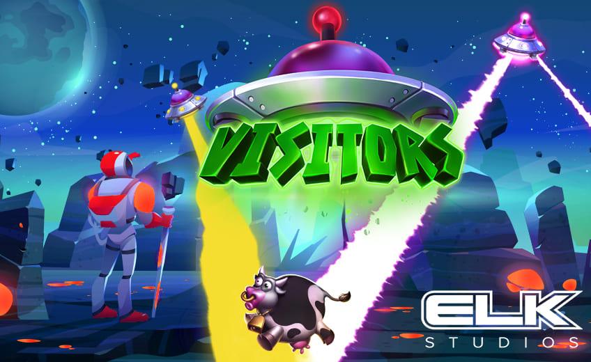 Visitors – новый слот о пришельцах от ELK Studios