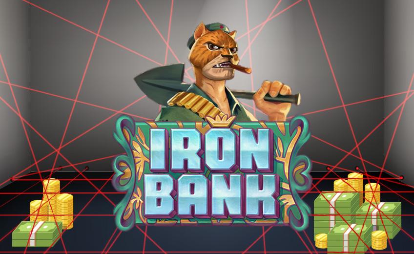 Впечатляющий продукт совместной работы Relax Gaming и CasinoGrounds – слот Iron Bank
