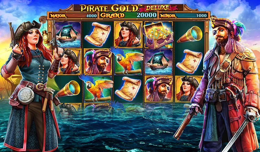 Подложка Pirate Gold Deluxe
