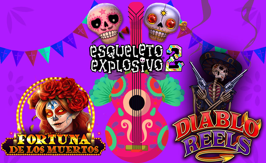 День мертвых в Мексике: лучшие слоты 2020