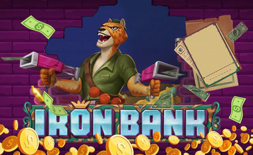 Игрок сорвал большой куш в новом автомате Iron Bank от Relax Gaming