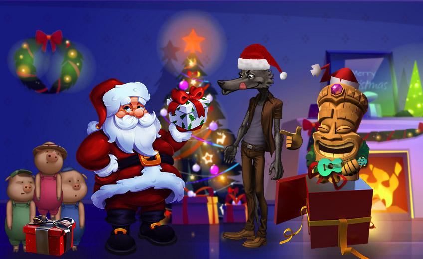 Самые ожидаемые игровые автоматы декабря 2020-го: новогодний выпуск