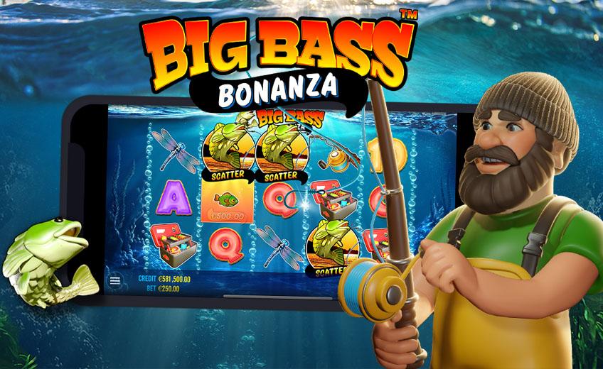 Большая рыбалка вместе с Big Bass Bonanza: новый слот от Pragmatic Play