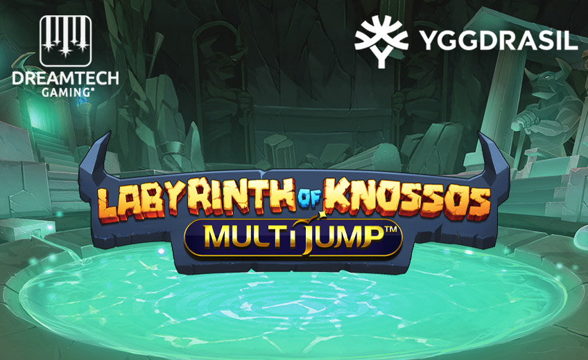 Yggdrasil выпустила игровой автомат Labyrinth of Knossos, главной опцией которого стала механика MultiJump