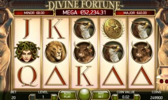 Скриншот 1 Divine Fortune