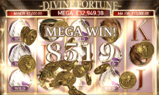Скриншот 2 Divine Fortune