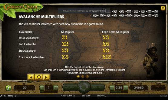 Скриншот 2 Gonzo's Quest