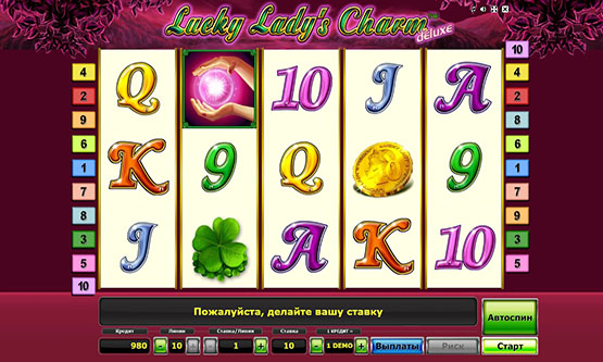 Скриншот 1 Lucky Lady's Charm Deluxe