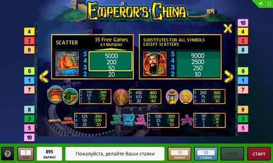 Скриншот 1 Emperors China