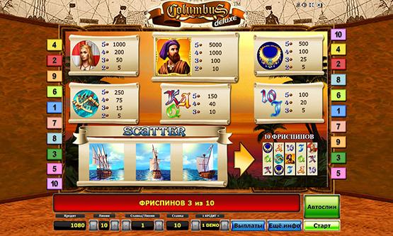 Скриншот 1 Сolumbus Deluxe