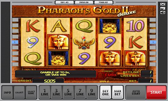 Скриншот 3 Pharaon's Gold