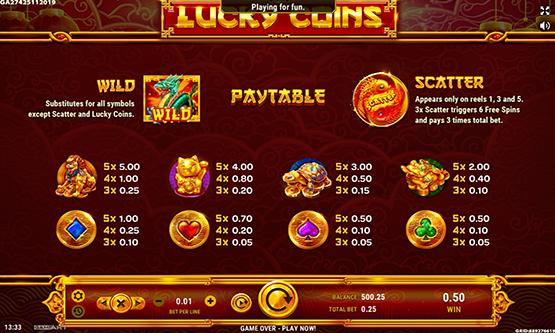 Скриншот 3 Lucky Coins