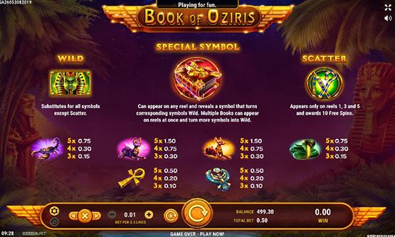 Скриншот 1 Book of Oziris