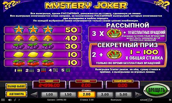 Скриншот 2 Mystery Joker
