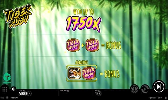 Скриншот 1 Tiger Rush
