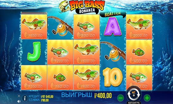 Скриншот 4 Big Bass Bonanza