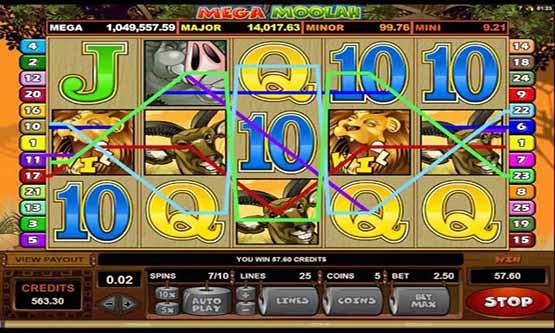 Скриншот 3 Mega Moolah