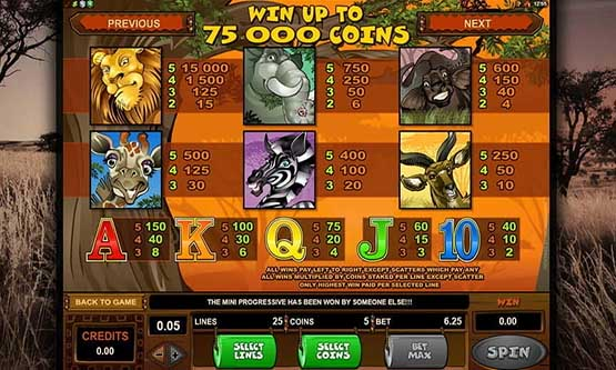 Скриншот 4 Mega Moolah