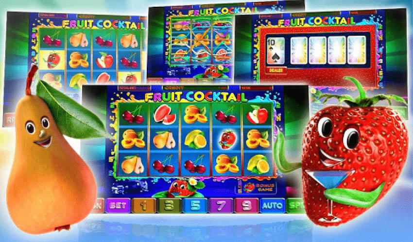 Игровой Автомат Клубнички (Fruit Cocktail) - Играть Бесплатно без  Регистрации - Gamblerkey